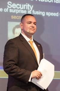 Paul de Souza presenting on Privacy and National Security, Germany 2014