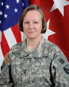 CSFI Advisory Board Member Jennifer Napper (US ARMY MG, Ret)