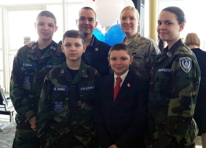 De Souza Family at Honor Flight