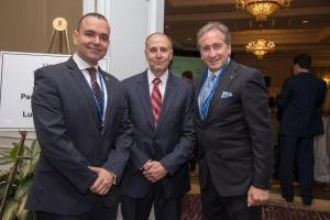 Paul de Souza, CSFI Founder President  Donald Good, FBI Bradford Rand, CEO Cyber Security Summit