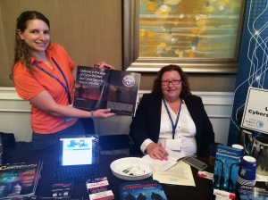 United States Cybersecurity Magazine booth at the Cyber Security Summit DC 2015