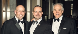 """Los 3 Amigos!"" CEO and National Cyber Security Hall of Fame Co-founder Larry Letow, Paul de Souza CSFI, and Ira Hoffman Of Counsel at Butzel Long."