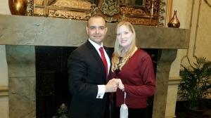 Paul and Christine de Souza - United States Marine Corps 240th Birthday Ball