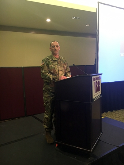 COLONEL ED BARKER, USA, Program Executive Office Soldier, Project Manager Soldier Warrior