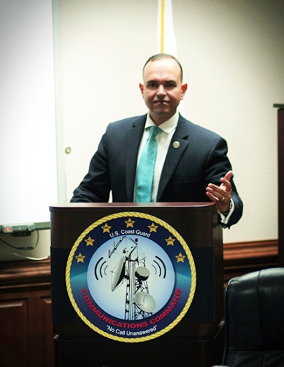 Paul de Souza's remarks at USCG Communications Command