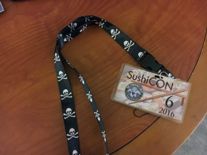 SushiCON 6 Badge.