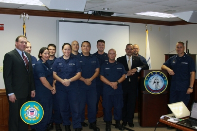 USCG COMMCOM IT personnel