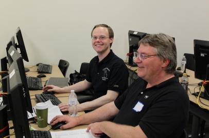 Jim Czerew, Competition Director and Steve Fall Assistant Director and Chief Judge
