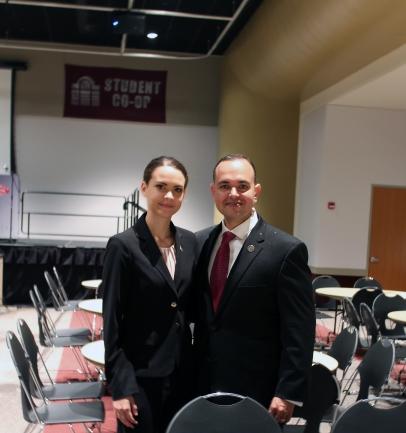 Paul de Souza, CSFI Founder and Alexia de Souza, CSFI/Air National Guard MD.