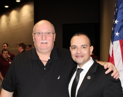 James Lewis, State Director and Network Architect and Paul de Souza, CSFI Founder and Sponsor