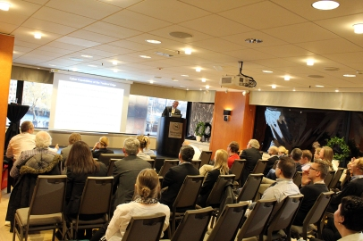 A lot of people were interested in Mr. de Souza's presentation - Cyber Capabilities at the Tactical Edge