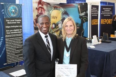 Dr. Margaret Polski _Order of Thor Medal