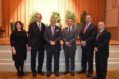 Valley Forge Military College_cyber security_panelists and staff
