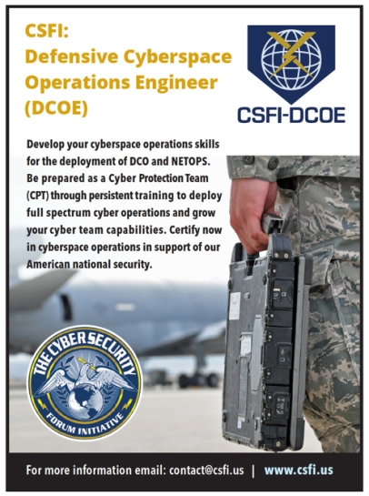 CSFI_DCOE_Defensive_Cyberspace_Operations_Engineer