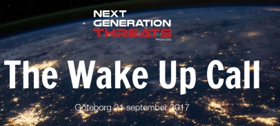 Next Generation Threats - Sweden CSFI Media Sponsor