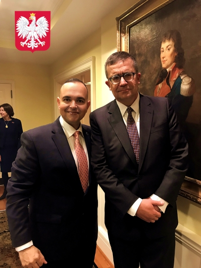 Ambassador from Poland to the United States - Piotr Wilczek and Paul de Souza_CSFI