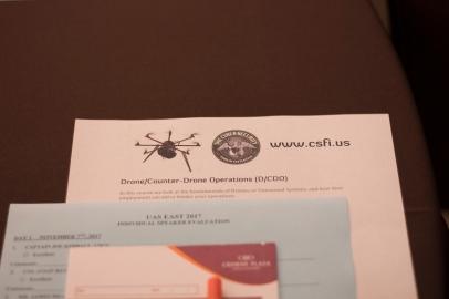 CSFI Counter Drone Operations_TTC 2017