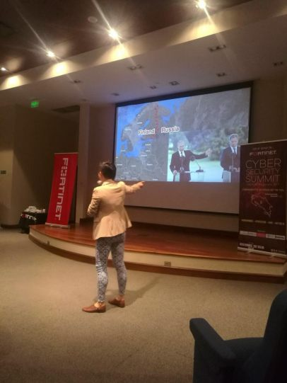 Evanna Hu Costa Rica 2017 presentation