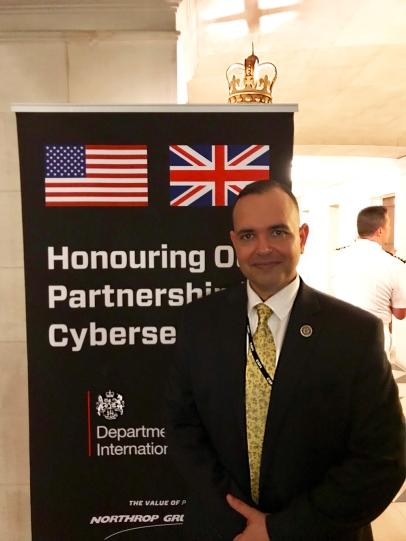 Paul de Souza US - British cyber efforts