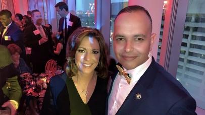 Paul de Souza CSFI and Kyra Phillips ABC News